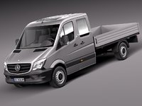 Mercedes-Benz Sprinter Pickup Long 2014