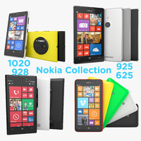 Nokia Lumia Flagship Collection of 1020 925 928 625 Smartphones