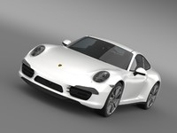 3ds porsche 911 carerra 4s