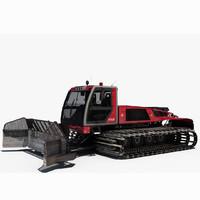 3d model prinoth t4s snowcat