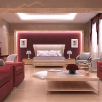 max scene master bedroom