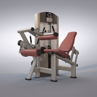 Seated Leg Curl Machine