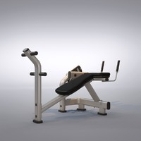 3d ab curl machine model