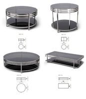 Set tables Arketipo Ula. 4 items
