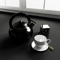 3d model kitchen decoration
