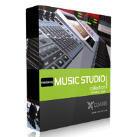 CGAxis Models Volume 31 Music Studio MentalRay