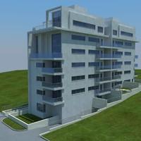 3d model buildings 2 1