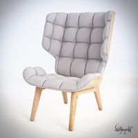 3d model mammoth chair armchair