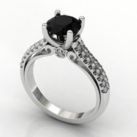 Double Pave Ring