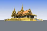 3d dai palace model