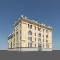 3dsmax old building