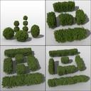 topiary 3D models