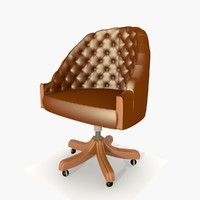 3d directors office chair