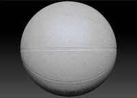 scan basketball 3d model