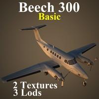 3d model beech basic