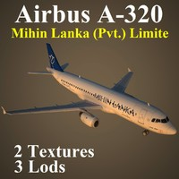 airbus mlr 3d model