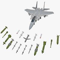 3d mcdonnell douglas f-15 eagle model