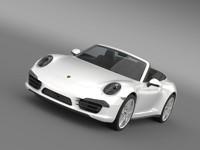 porsche 911 carerra 4s model