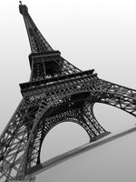 Highly Detailed Eiffel Tower