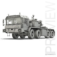 Faun STL-56 Heavy Tank Transporter