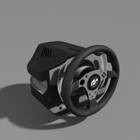 thrustmaster g500 racing wheel 3d