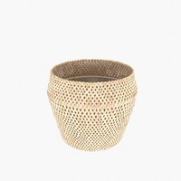 Wicker pot