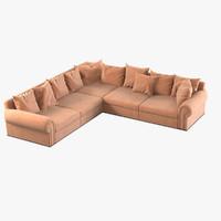 maya fendi corner sofa