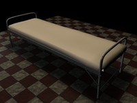 old bed c4d