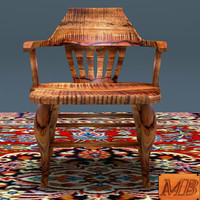 maya antique wooden chair