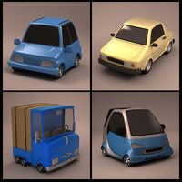 Cartoon Cars Collection 04