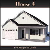 house 4 3d 3ds