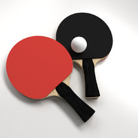 table tennis sets 3d model
