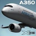 Airbus A350 3D models
