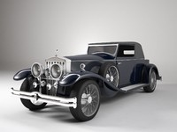 rolls royce phantom 1929 3d model