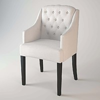 eichholtz chair lancaster 3d model