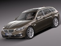 BMW 5-series F11 2014 touring