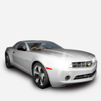 chevrolet camaro car 3d max