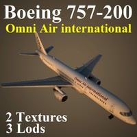 3ds max boeing 757-200 oae