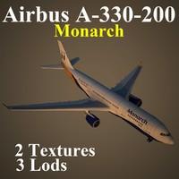 3d airbus mon model