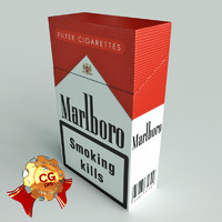 pack marlboro cigarettes 3ds