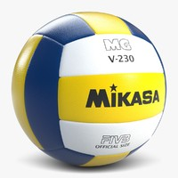 3d model of volleyball 2