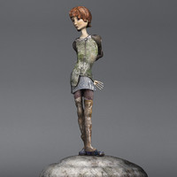 Statuette of a girl