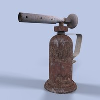 3d model blowtorch