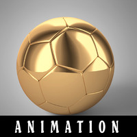 football animation ball model