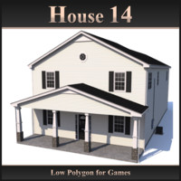 house 14 3d dxf