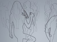 3d model hu silhouettes