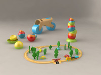 max kid toy train set