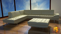 sofa italia 3d lwo
