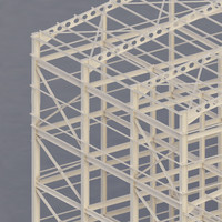 3d structure building factory