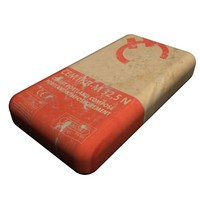 3ds max cement bag